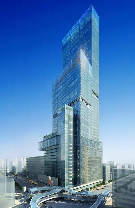 阿部野橋ターミナルビル タワー館 完成予想パース