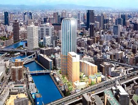 江之子島地区まちづくり事業 イメージ