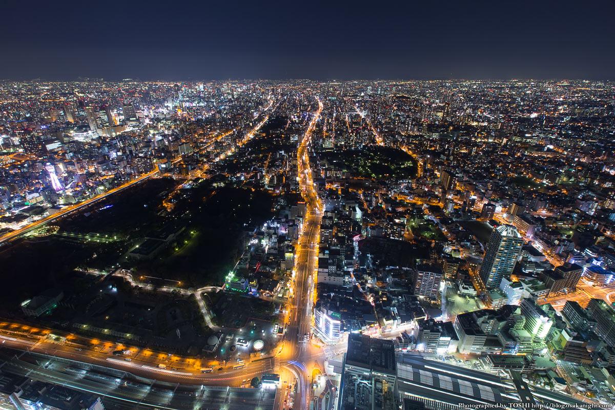 【大阪】あべのハルカス展望台からの夜景をご覧ください