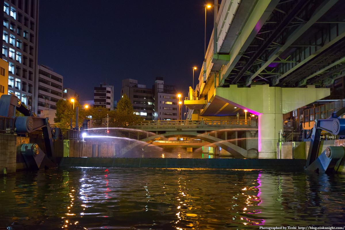 夜の東横堀川 探検クルーズ(御舟かもめ) | 大阪 at Night ブログ