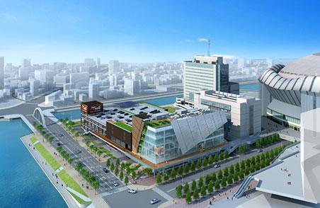 hu+gMUSEUM ハグミュージアム 完成予想パース 01