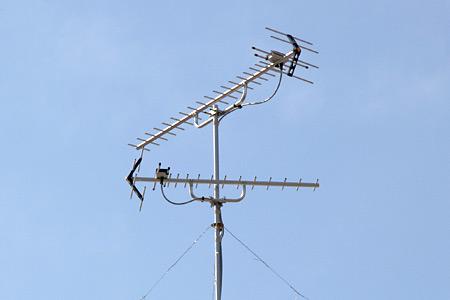 UHFアンテナ+UHFアンテナ