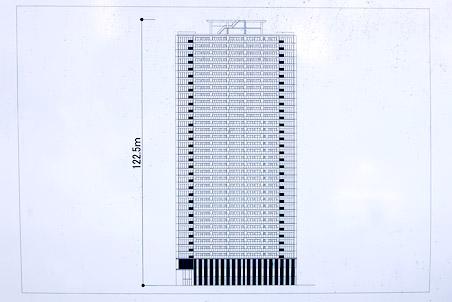 (仮称)北区中津1丁目計画 立面図