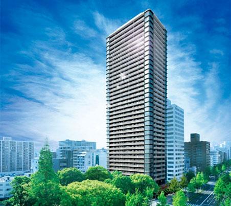 プレミストタワー大阪新町ローレルコート 完成予想図
