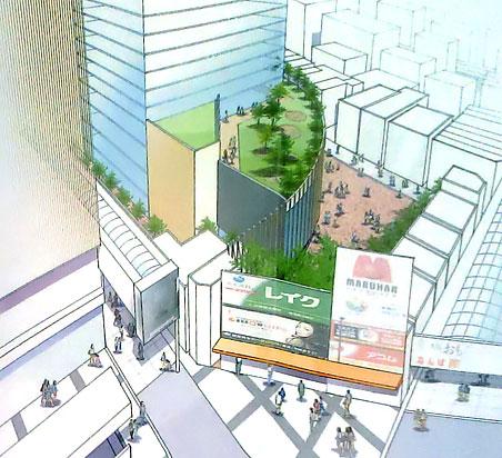 精華小学校跡地再開発計画 2013年8月案 02