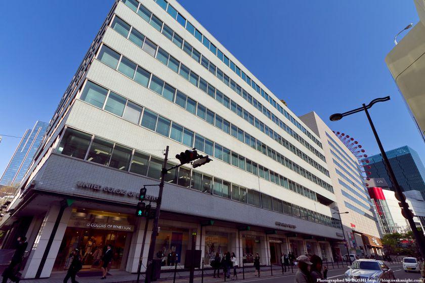 梅田東西道路 ヤンマー本社ビル