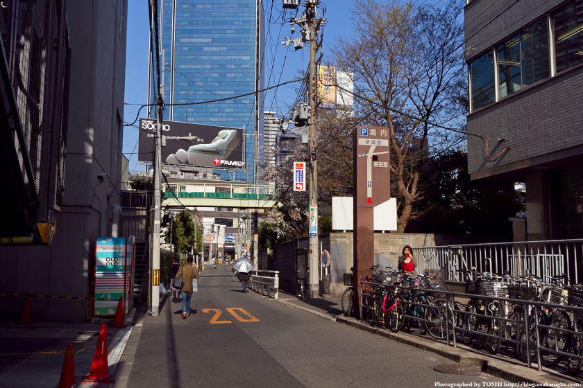 梅田東西道路 旧梅田東小学校横