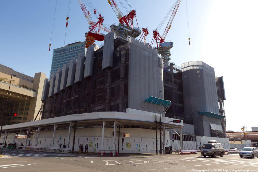 グランフロント大阪建設工事 2011年4月