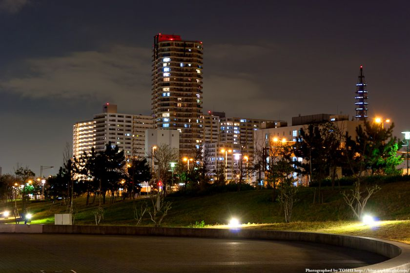 ローレルスクエア大阪ベイタワー 夜景