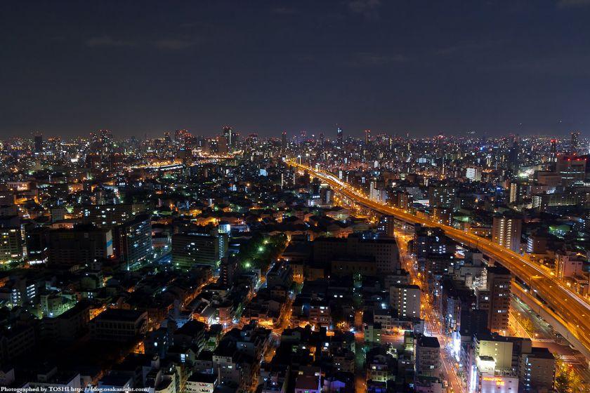 真夜中の大阪都心