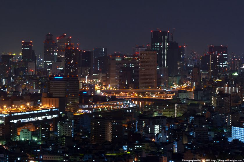 真夜中の大阪(梅田〜中之島)
