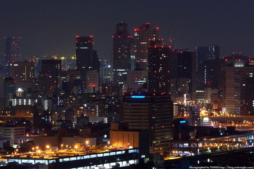 真夜中の大阪(梅田)