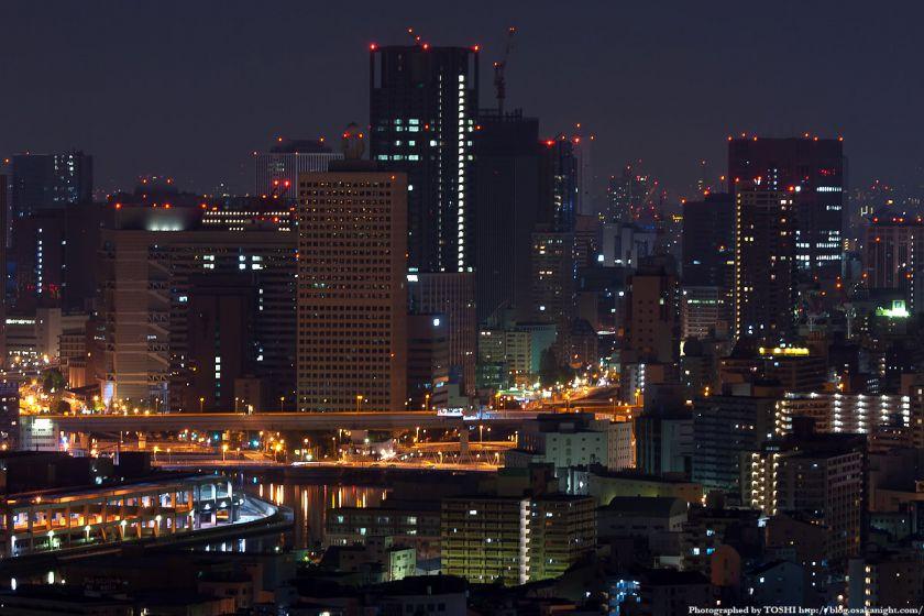 真夜中の大阪(中之島)