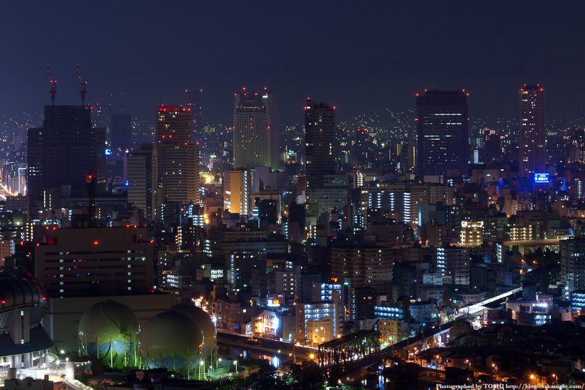 真夜中の大阪(難波)