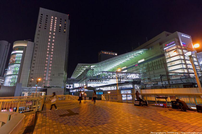 大阪ステーションシティ 全景夜景 01