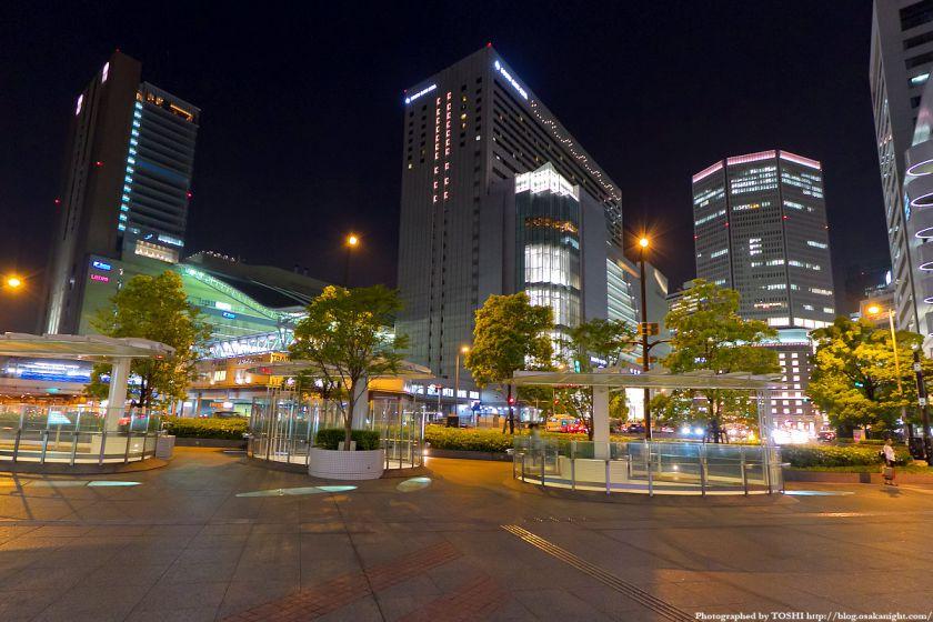 大阪ステーションシティ 全景夜景 02