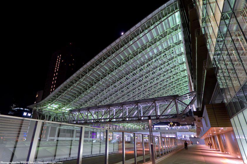 大阪ステーションシティ ドーム夜景