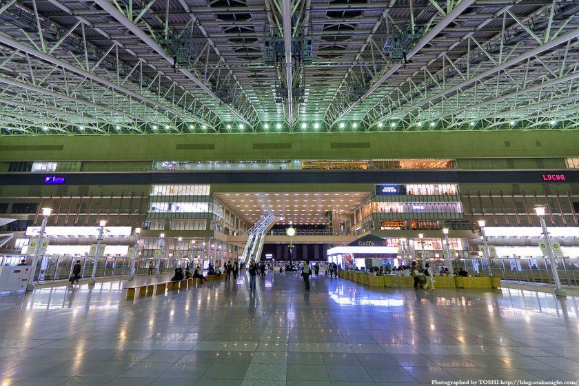 大阪ステーションシティ 時空の広場 夜景 01