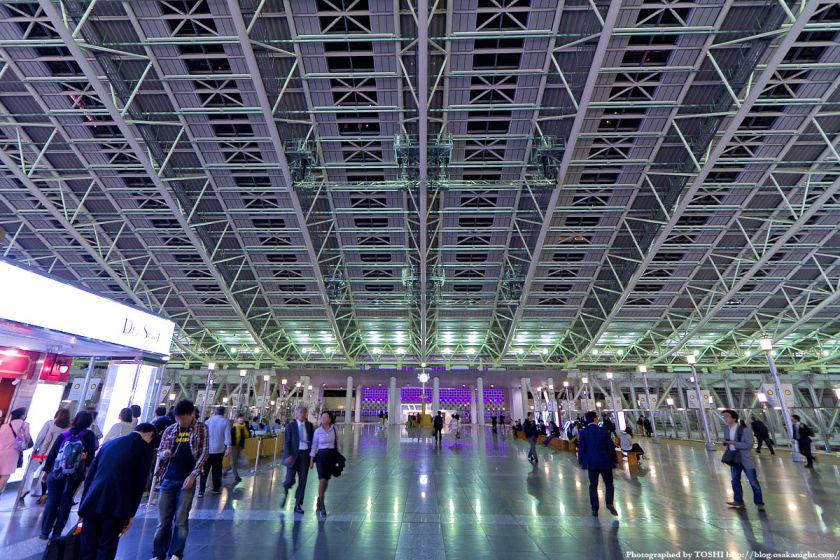 大阪ステーションシティ 時空の広場 夜景 02