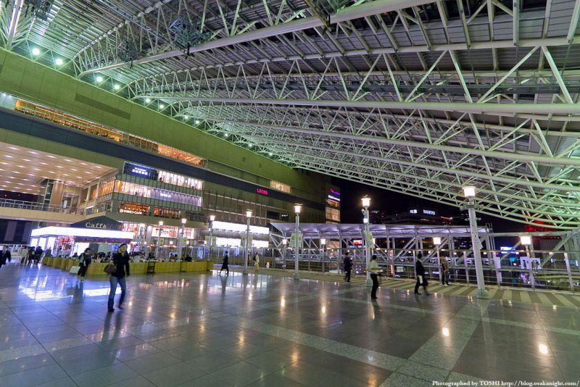 大阪ステーションシティ 時空の広場 夜景 03