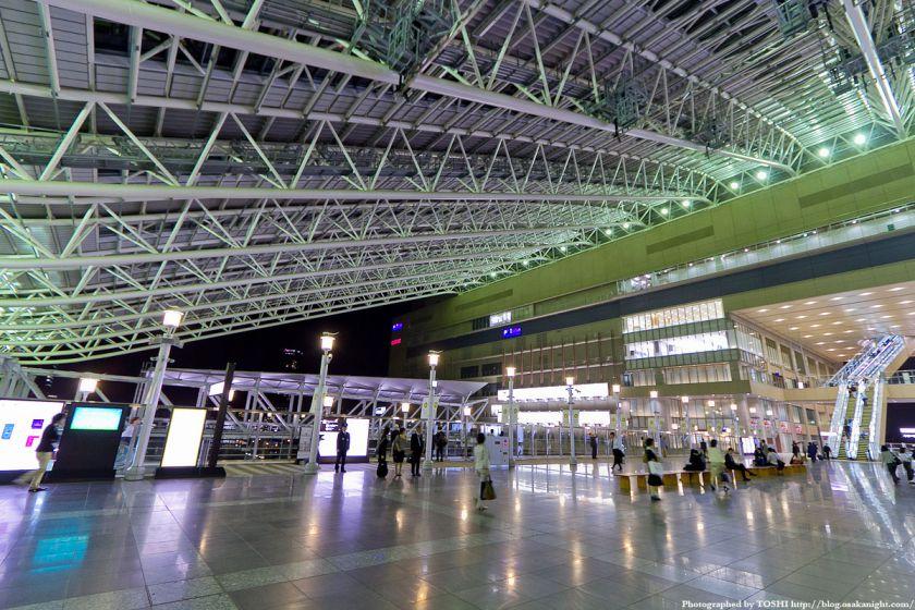 大阪ステーションシティ 時空の広場 夜景 04