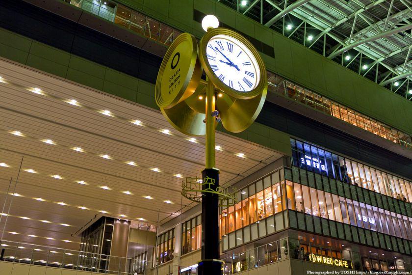 大阪ステーションシティ 時空の広場 夜景 05