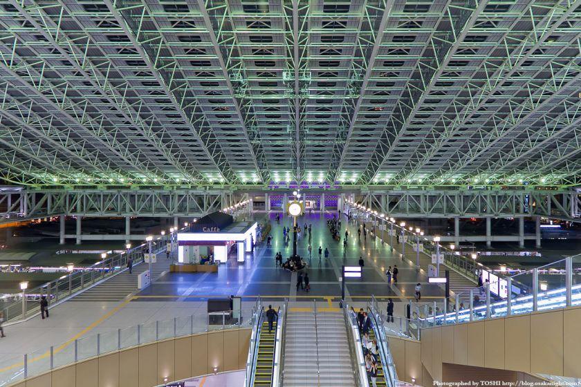 大阪ステーションシティ 時空の広場 夜景 06