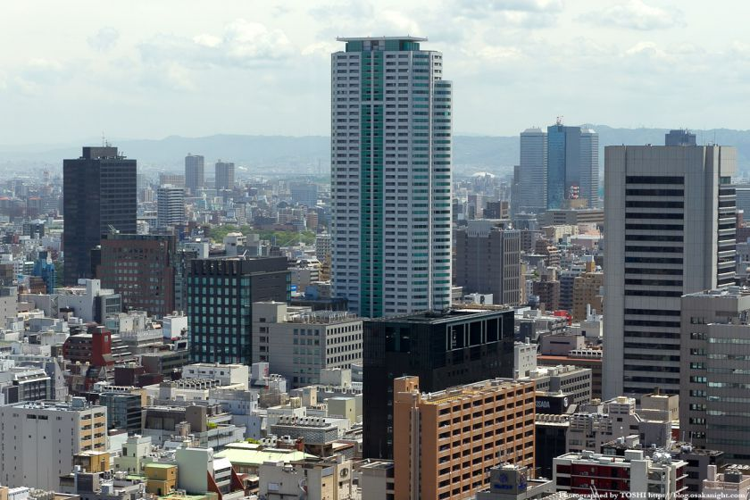オリックス本町ビル 展望テラスよりシティタワー大阪