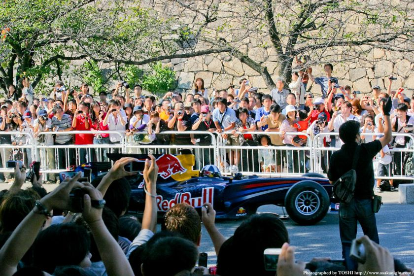 レッドブルF1 at 大阪城公園02
