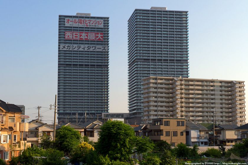 メガシティタワーズ(大阪府八尾市) 2011年6月 02