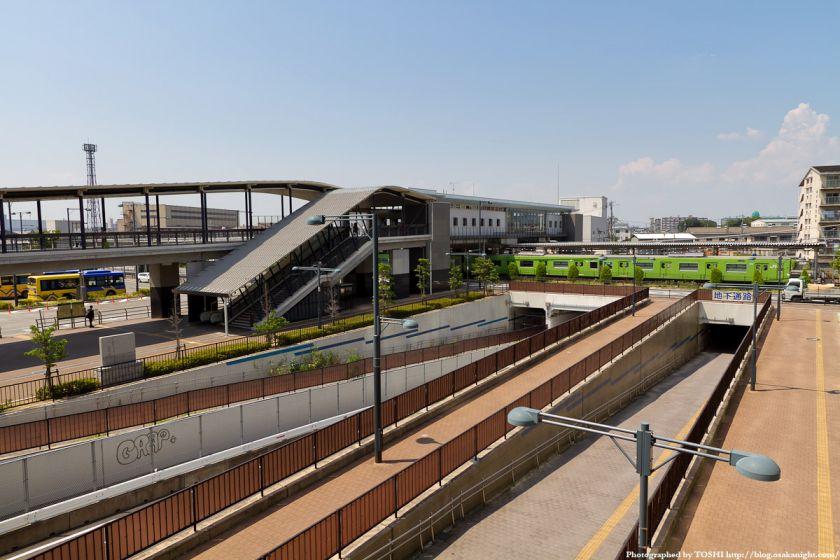 JR久宝寺駅 2011年6月
