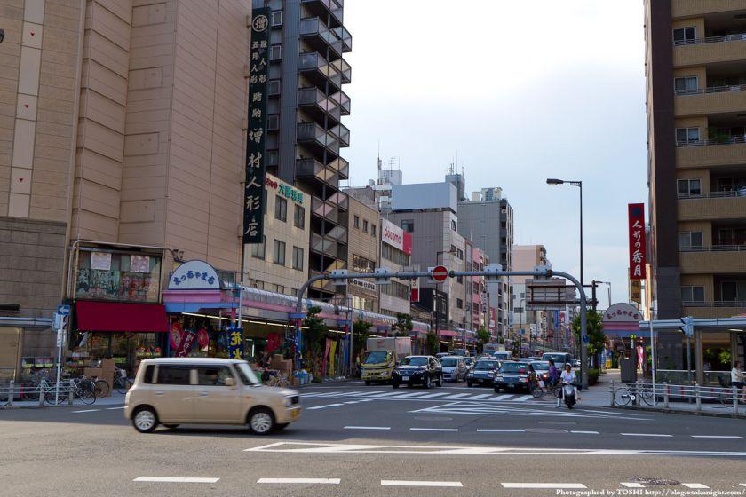 松屋町筋商店街 2011年7月