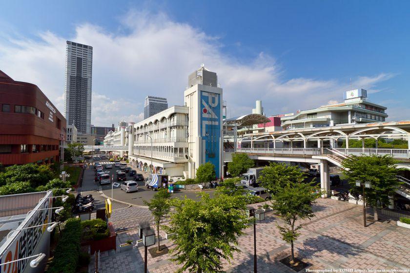 千里中央駅周辺 2011年7月