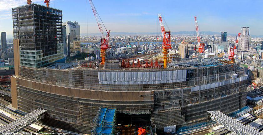 JR大阪駅新北ビル全景