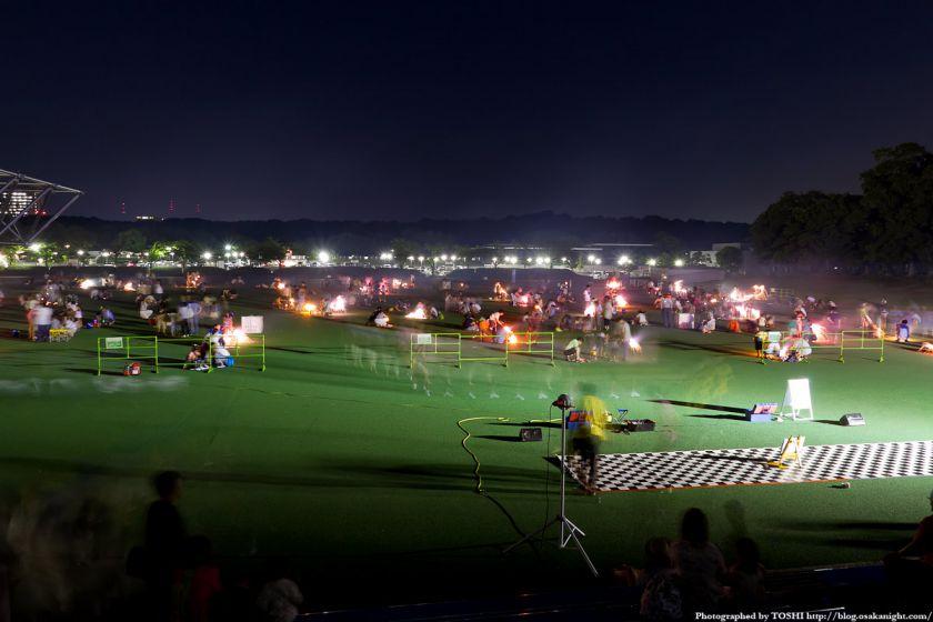 イルミナイト万博 お祭り広場 夜景