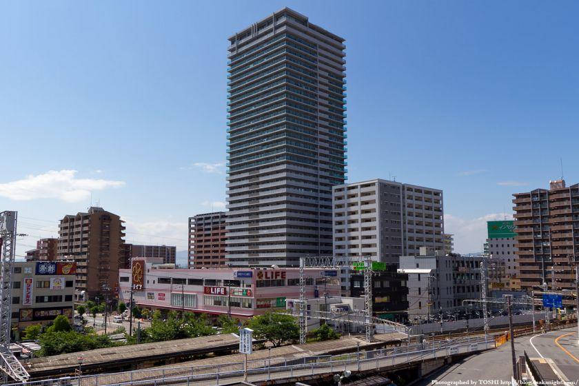 ロイヤルメドゥ香里園タワー 2011年8月