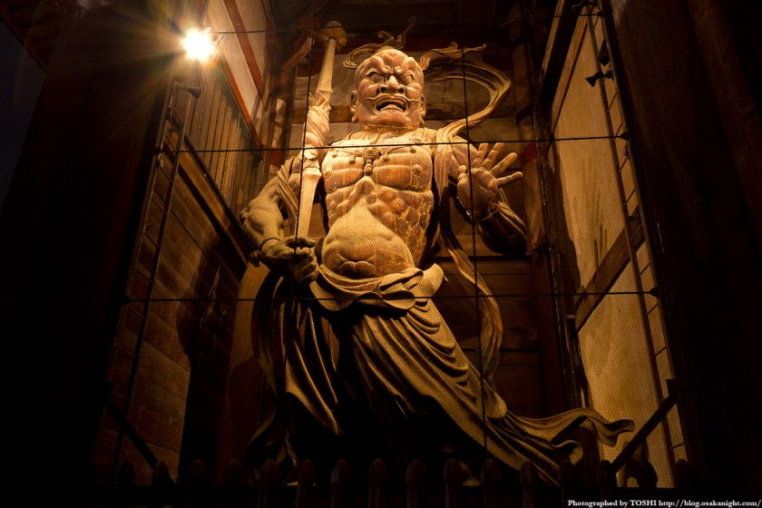 東大寺 金剛力士立像 阿形