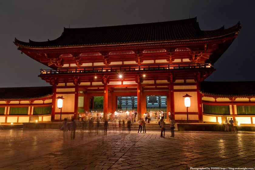 東大寺 中門 ライトアップ夜景