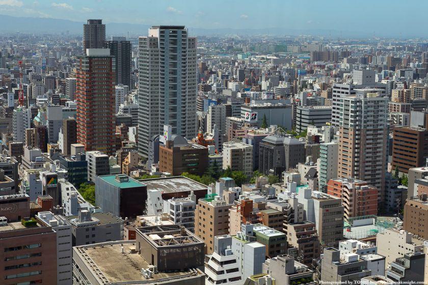 大阪厚生年金会館跡地(オリックス劇場) 俯瞰