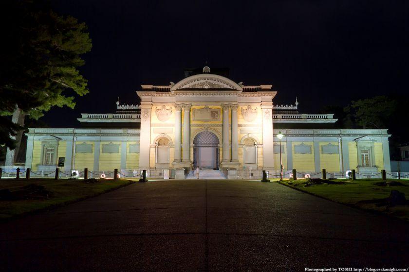 奈良国立博物館 なら仏像館 ライトアップ夜景
