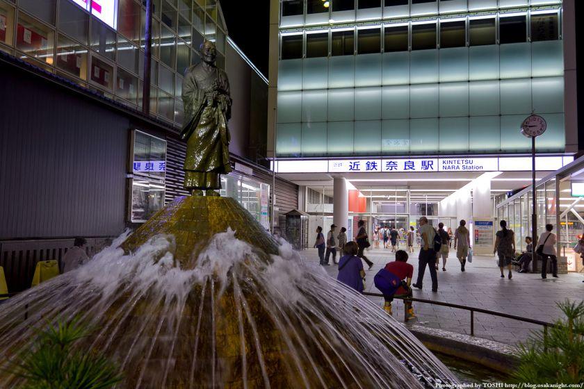 近鉄奈良駅前 行基像