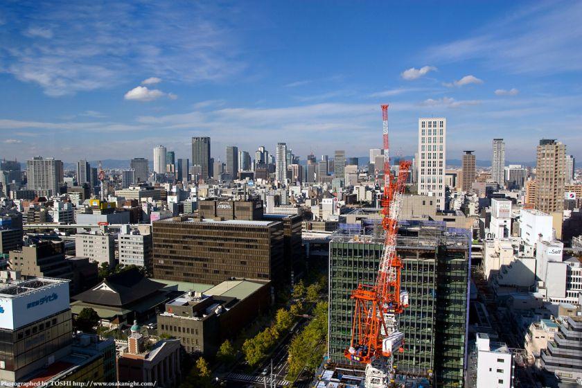エプソン大阪ビルから見た梅田方面