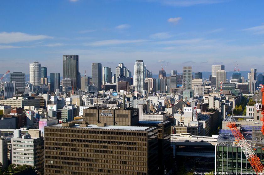 エプソン大阪ビルから見た梅田方面2