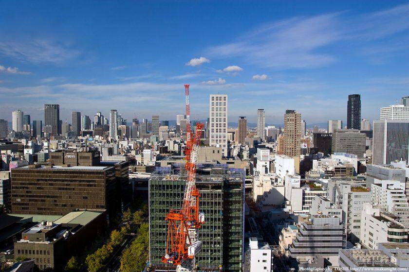 エプソン大阪ビルから見た大阪都心