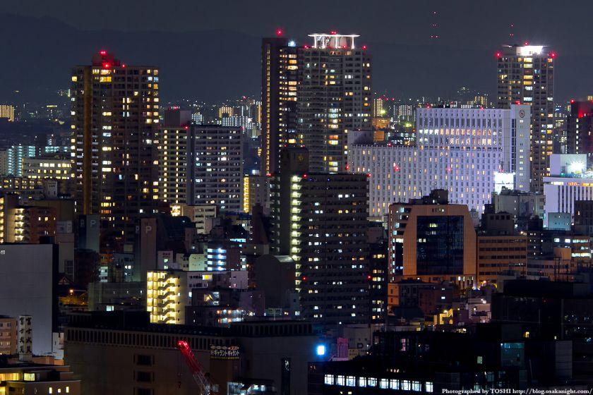 オリックス本町ビルから見た上本町の夜景
