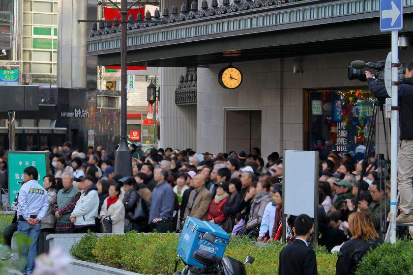 難波駅前 大阪維新の会 街頭演説