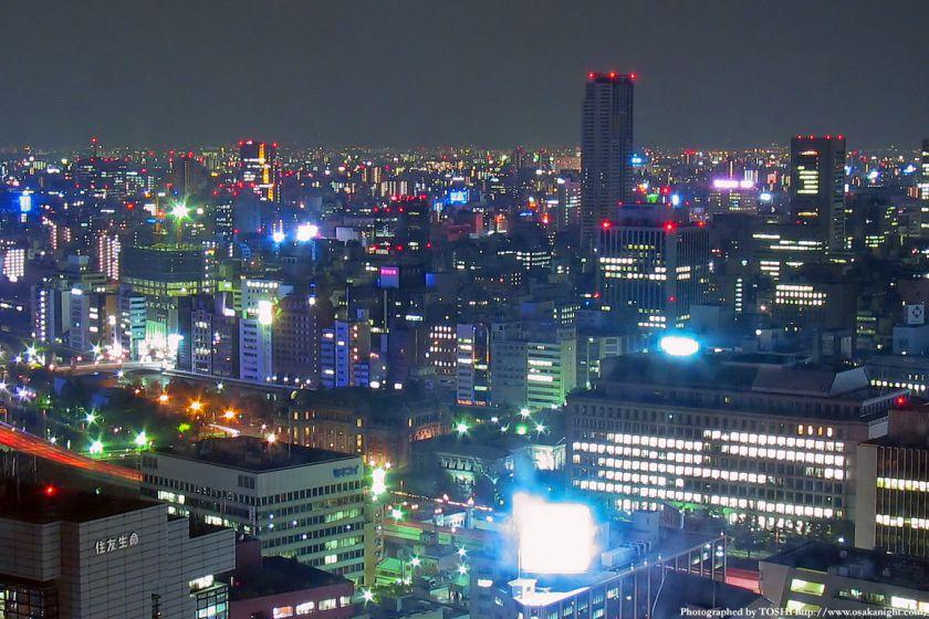 大阪・北浜の夜景 2003年頃