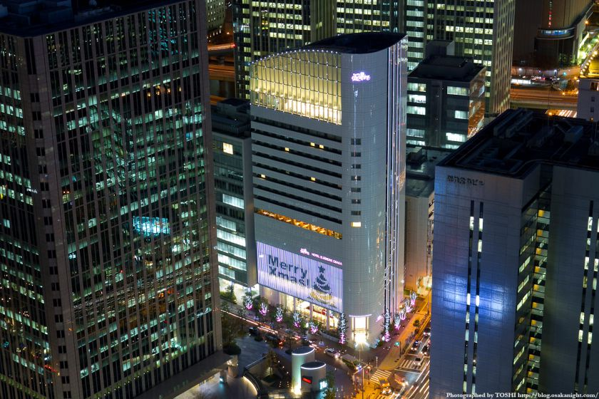 ホテルエルセラーン大阪 Xmasイルミネーション2011 01