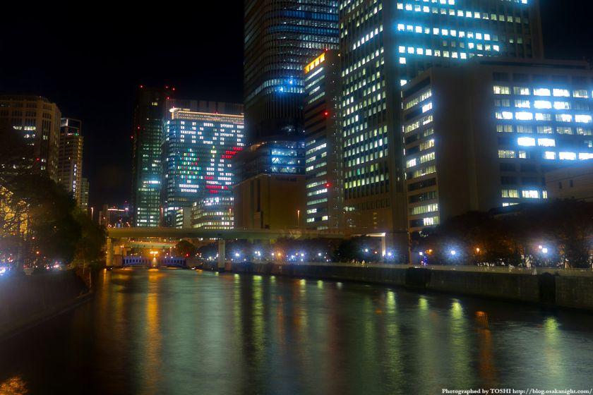中之島三井ビル クリスマス・ウィンドウアート2011 02