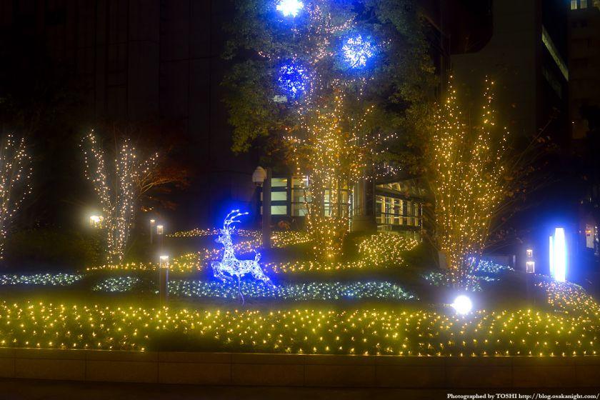 中之島ダイビル クリスマスイルミネーション2011 01